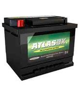 Picture of ATLAS 612 50ah 420cca Recessed RHP Car Battery