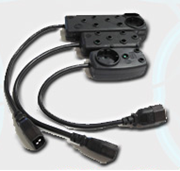Picture of Multi Plug IEC Adaptor 2+2 Way