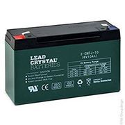 Picture of Betta Battery / Deltec Lead Crystal, 6v, 10Ah