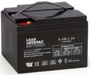 Picture of Betta Battery / Deltec Lead Crystal, 12v, 24Ah
