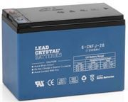 Picture of Betta Battery / Deltec Lead Crystal, 12v, 28Ah