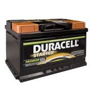 Picture of DURACELL 657 12v 72ah 640cca Foot Piece LHP Car Battery