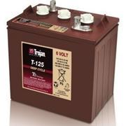 Picture of Trojan T125 6V 240Ah Deep Cycle Golf Cart Battery