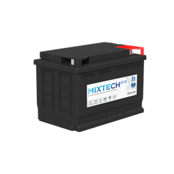 Picture of Mixtech M27MF 12v 90ah 800Cca Marine & Leisure Battery