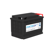 Picture of Mixtech 668 12v 80ah 770CCA Stop/Start EFB Car Battery
