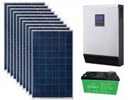 Picture of 1kVA Grid Interactive Hybrid Solar Inverter System