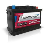 Picture of Enertec 658 AGM Start/Stop 12v 90ah 850/880cca RHP Car Battery