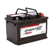 Picture of Enertec 652LC 12v 66ah 600/620CCA RHP Car Battery