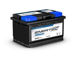 Picture of Enertec Blue 646HC,12v, 60Ah, 530/570CCA, RHP Car Battery