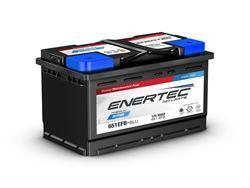 Picture of Enertec Blue 651 EFB,12v, 65Ah, 650/680CCA, RHP Car Battery