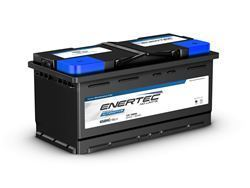Picture of Enertec Blue 658HC, 12v, 100Ah, 850/900CCA RHP Car Battery