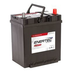Picture of Enertec 616 12v 35ah 300/310CCA Hold Down J Terminal RHP Car Battery