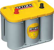 Picture of Optima Yellow Top 12V 55Ah 765cca Spiral AGM Battery LHP