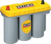 Picture of Optima Yellow Top 12V 75Ah 975cca Spiral AGM Battery