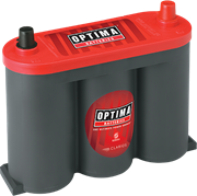 Picture of Optima Red Top 6V 50Ah 815CCA Spiral AGM Classic Car Battery