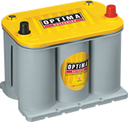 Picture of Optima Yellow Top Y12v 48ah 660cca AGM Battery RHP