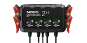 Picture of NOCO GENIUS 2X4  6V/12V 4-Bank, 8-Amp Smart Battery Charger
