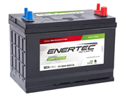 Picture of Enertec Blue M24MF, 12v, 80Ah, 650CCA, Deep Cycle Leisure Battery