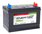Picture of Enertec Blue M27MF, 12v, 95Ah, 750CCA, Deep Cycle Leisure Battery